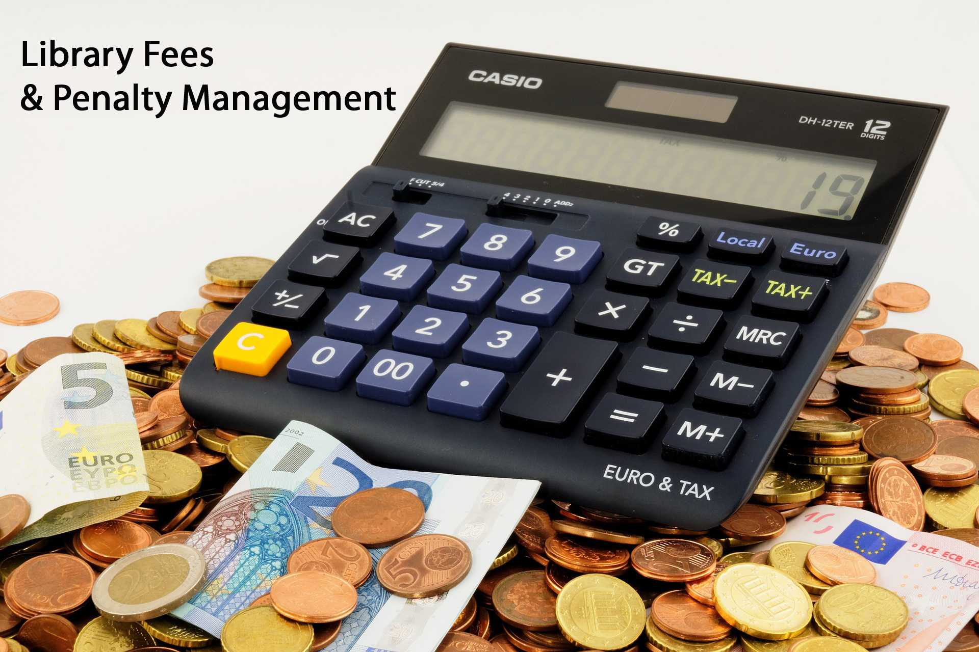 Library fees management