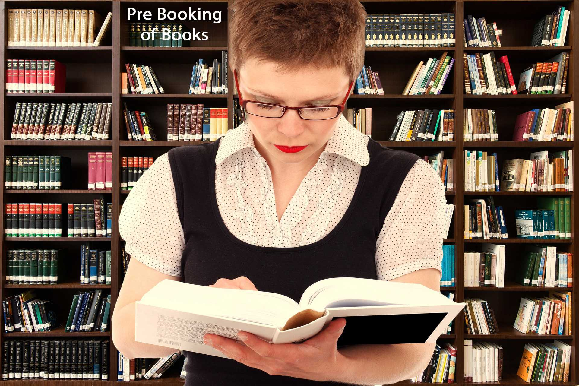 Pre booking of books