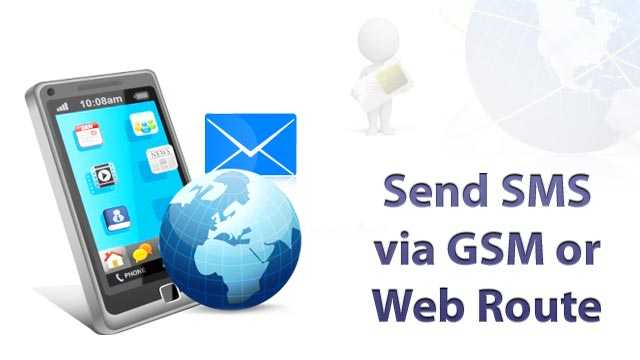 GSM & Web SMS Supported